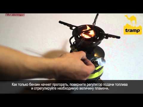 Відеоогляд бензинової горілки, примуса Tramp TRG-016