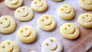 笑脸马铃薯饼 | Homemade Potato Smiley Fries [Happeabites]