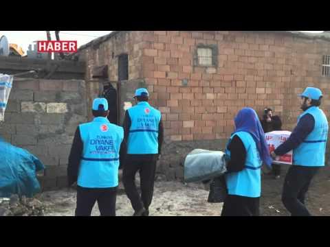 Türkiye Diyanet Vakfı Yaraları Sarıyor