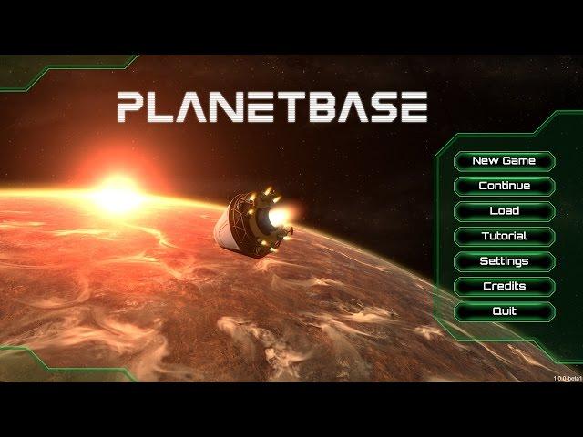 Видео к игре Planetbase