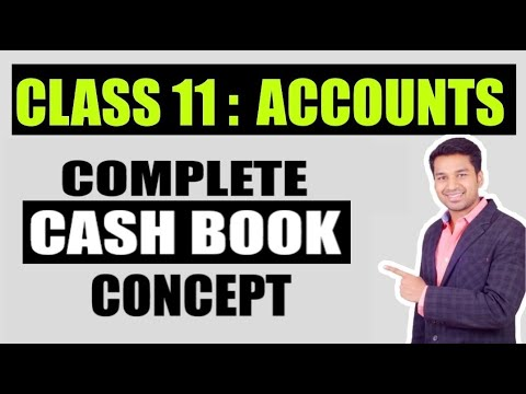 Class 11th Accountancy : Special Purpose Book- Cashbook (by CA. Parag Gupta)