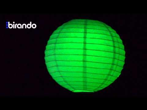 Hanging Paper LED Lanterns by Birando