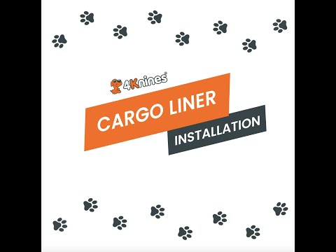 Waterproof Pet And Dog Cargo Liner Installation - 4Knines