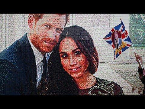 Όλα έτοιμα για τον βασιλικό γάμο της χρονιάς στη Βρετανία…