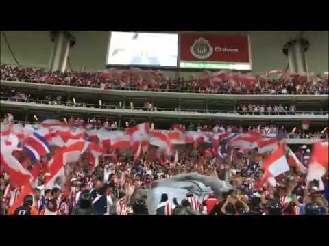 Recibimiento Chivas vs América - LBDCH 2016 - La Irreverente - Chivas Guadalajara