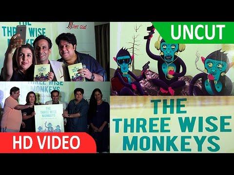 UNCUT: David Dhawan, Farah Khan & Sajid Khan At The launch Of funny book The Three Wise Monkeys