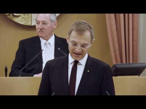 Regierungserklärung von Landeshauptmann Mag. Thoma...