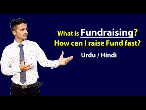What is Fundraising | How can i raise Fund Fast | Hindi / Urdu