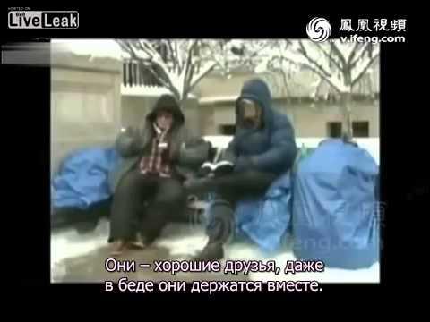 Северокорейское телевидение о жизни в США