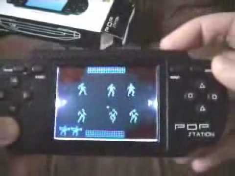 ripoff - A video review of a cheap rip-off of Sony's PSP games system.