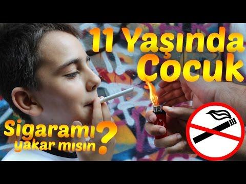 Sigarasını Yakmak İçin Yardım İsteyen 11 Yaşındaki Çocuk Sosyal Deney - Social Experiment
