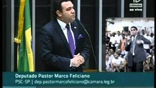 Deputado Federal Pr. Marcos Feliciano Defende Pr. Marcos Pereira E Pr. Silas Malafaia Na TV Câmara