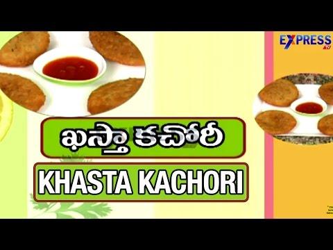 Khasta Kachori Recipe : Yummy Healthy Kitchen   Express TV
