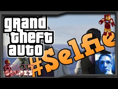 #Selfie GTA Parody Song by Sparty using GTA V Online & The Chainsmokers SELFIE