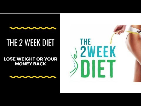 The 2 week diet (Lose Weight Fast)  Check this before you buy.