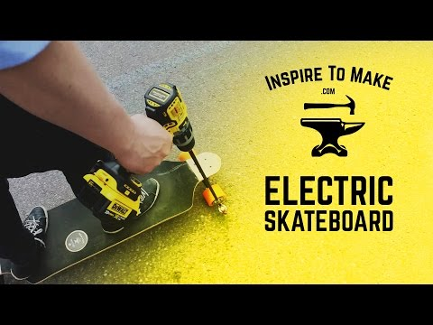 Cheap and Easy DIY Electric Skateboard Cool