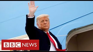 """Trump's last day as President: """"Movement we started only just beginning"""""""