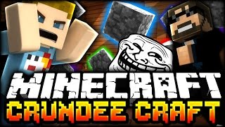 Minecraft: EVERYTHING IS COBBLE TROLL | CRUNDEE CRAFT