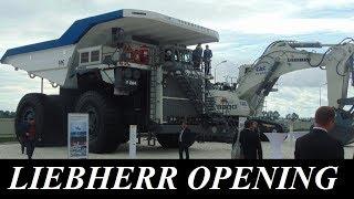 В Кузбассе открылся самый большой в России сервисный центр компании LIEBHERR . На открытие центра приехал лично главный учредитель и председатель совета директоров компании, самый старший из династии, Господин Либхерр.