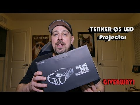 TENKER Q5 LED Projector GIVEAWAY Contest!