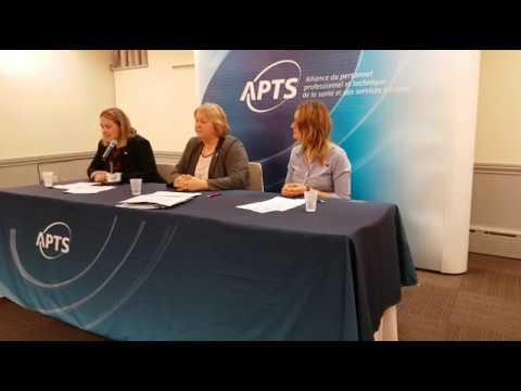 Conférence de presse sondage santé psychologique