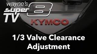8. Super8 150 -  1 of 3 Valve Clearance Adjustment