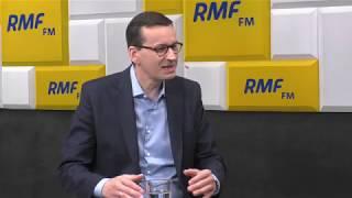 Premier Mateusz Morawiecki: Donald Tusk? Nie było na ten temat dyskusji