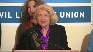 Edie Windsor on DOMA ruling