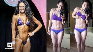"""Hi! My name is Yami Mufdi and I'm a Bodybuilding.com Athlete! Ever wonder what NPC Bikini competitiors eat during their off season? Well, I'm here to show you how I eat on a daily basis in order to continue to build muscle and minimize fat gain! Use the Code """"YAMIMUFDI10"""" to get 10% Off  ► http://bbcom.me/2tGyIEV Follow Yami on Social Instagram ► @yamimufdi - http://bit.ly/2cPxGy6YouTube ► http://bit.ly/2tGYrNxWebsite ► http://bit.ly/2qNjYTtSnapchat ► @yamimufdi- http://bit.ly/2tGJwmCTwitter ► @yamimufdi - http://bit.ly/2tGHlPUShop Optimum Nutrition ► http://bbcom.me/2tGyIEV============================================= Recommended Supplements Optimum Nutrition Gold Standard 100% Whey ► http://bbcom.me/2ueGLKn- Muscle Building Whey Protein Powder*- 24g of Whey Protein with Amino Acids for Muscle Recovery and Growth*Optimum Nutrition Amino Energy ► http://bbcom.me/2uex5zf- Amino Acid Powder for Increased Energy*- Train Longer and Harder with Intense Energy and Focus*Optimum Nutrition Cake Bites ► http://bbcom.me/2ueDJpe- Deliciously Whipped High-Protein Snack With 20G Of Protein Per 3-Cake Serving*- Available In 3 Tempting Flavors To Make Any Day Feel Like Cheat Day============================================= Bodybuilding.com Sales & Specials ► http://bbcom.me/2q1djSYFitness Articles ► http://bbcom.me/2q1p7Vq#1 Online Supplement Store ► http://bbcom.me/2q1os6yFree Fitness Plans ► http://bbcom.me/2q1dhKU#1 Women's Fitness Site ► http://bbcom.me/2q1ouvc============================================= Follow Us Twitch ► http://bit.ly/2q1dttEYouTube ► http://bit.ly/1RSJFa4Facebook ► http://on.fb.me/1lomhprInstagram ► http://bit.ly/1LzBxabTwitter ► http://bit.ly/1RSJQlLGoogle+ ► http://bit.ly/1NRe8quPinterest ► http://bit.ly/1OOZgY4Spotify ► http://spoti.fi/1NRebm0 We are Bodybuilding.com. Your transformation is our passion. We are your personal trainer, your nutritionist, your supplement expert, your lifting partner, your support group. We provide the technology, tools and """