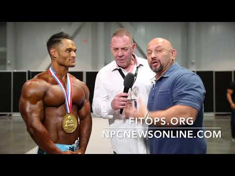 Buen dia - 2017 IFBB MEN'S PHYSIQUE OLYMPIA JEREMY BUENDIA INTERVIEWED BY TONY DOHERTY