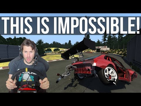 Lapping The Nordschleife in BeamNG Is Nearly Impossible!