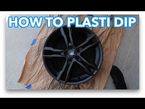 HOW TO PLASTI DIP WHEELS – 2017 FORD FOCUS ST