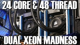 OverKILL3D 24 Core 48 Thread Twin Xeon 2697 V2 Review