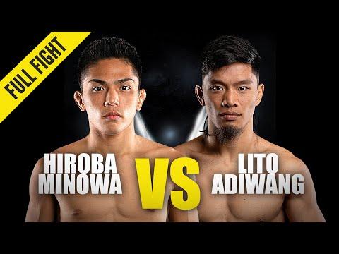 Hiroba Minowa vs. Lito Adiwang | ONE Championship Full Fight