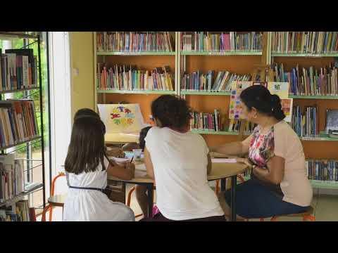 La médiathèque annexe de Pont d'Yves en vidéo