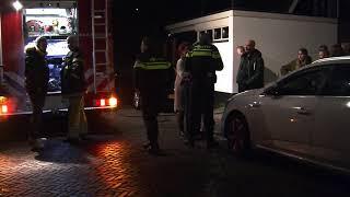 Schutting in de brand op de Colijnstraat