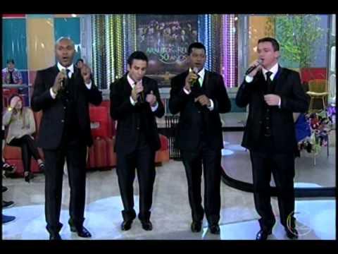 Quarteto Arautos do Rei no Prog Encontros com FAtima Bernardes