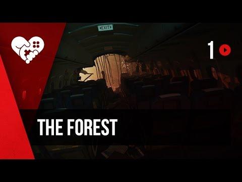 WELOVEGAMES и Алина Рин проходят The Forest. Часть 1. Запись от 12.01.2017.