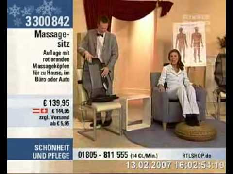 orgasmus massagematte aus RTL shop