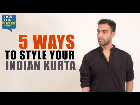 Video 5 Ways to Style Your Indian Kurta download in MP3, 3GP, MP4, WEBM, AVI, FLV January 2017