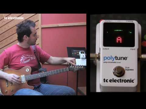 TC Electronic PolyTune - Tuning modes