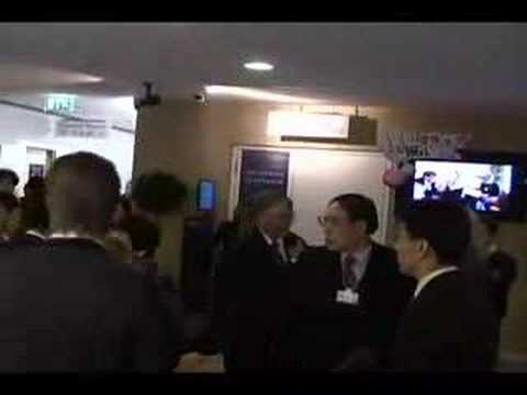 The Davos Question 2008 - Behind the Scenes
