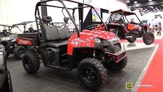 7. 2018 Polaris Ranger 570 Utility ATV - Walkaround - 2017 Drummondville ATV Show