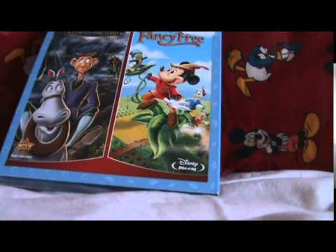 The Adventures Of Ichabod And Mr. Toad/Fun And Fancy Free Blu-Ray Unboxing