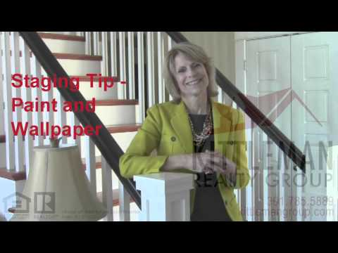 Laura Staging Tips Intro and Tip 1 – Paint and Wallpaper