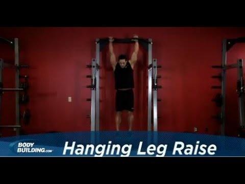 Exercitiu - Ridicarea picioarelor din atarnat
