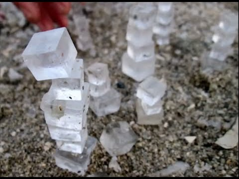 Salt Cubes Of The Deadsea