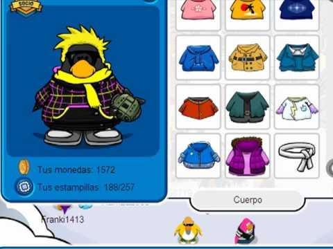 Club penguin contraseña de un pinguino socios marzo 2011