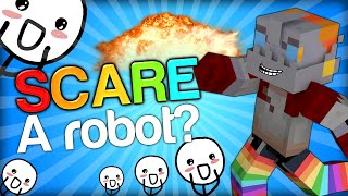 NOOCH GOT VERY SCARED - SCARING NOOCH Minecraft Trolling Youtubers with Minecraft Mods (Scare Prank)