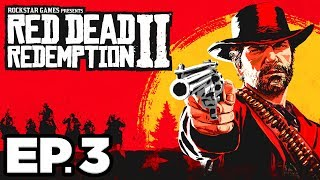 Red Dead Redemption 2 Ep.3 - GOING DEER HUNTING, THE AFTERMATH OF GENESIS!!! (Gameplay / Let's Play)